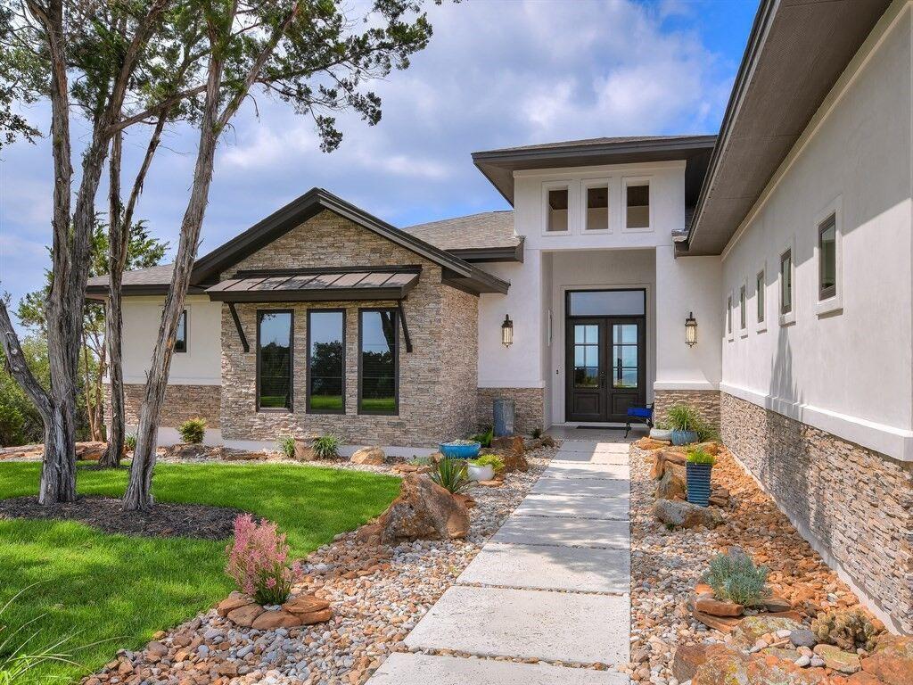 Custom Home built by Silverton Custom Homes in Westlake, TX