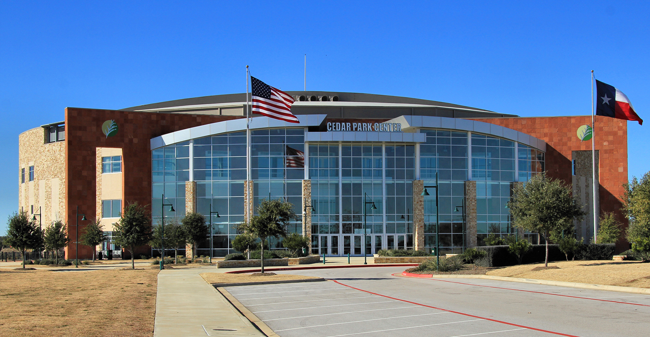 Image of the Cedar Park Center in Cedar Park, TX