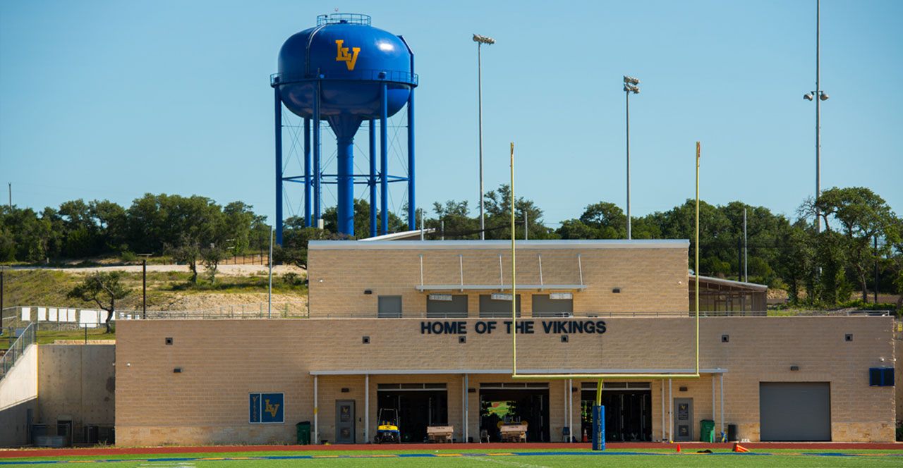 Lago Vista High School football field